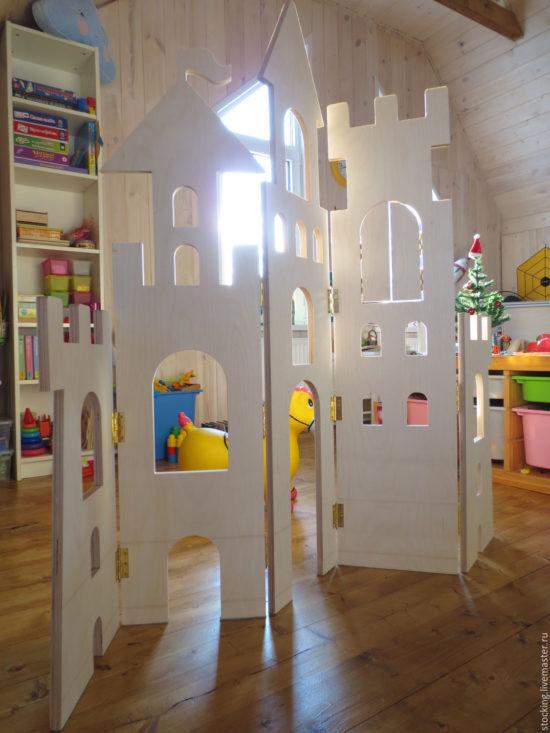 ширма-замок детская