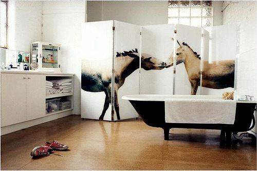 зонирование в ванной