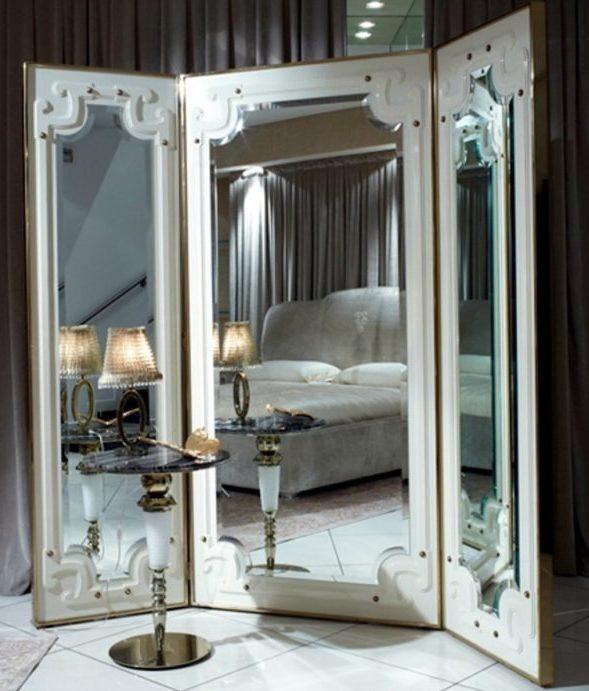 ширма с зеркалом