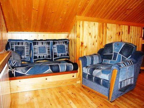 джинсовая мебель на даче