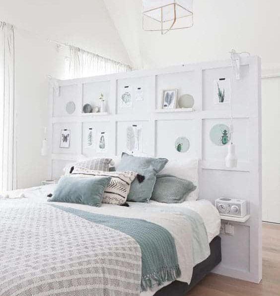 кровать с перегородкой